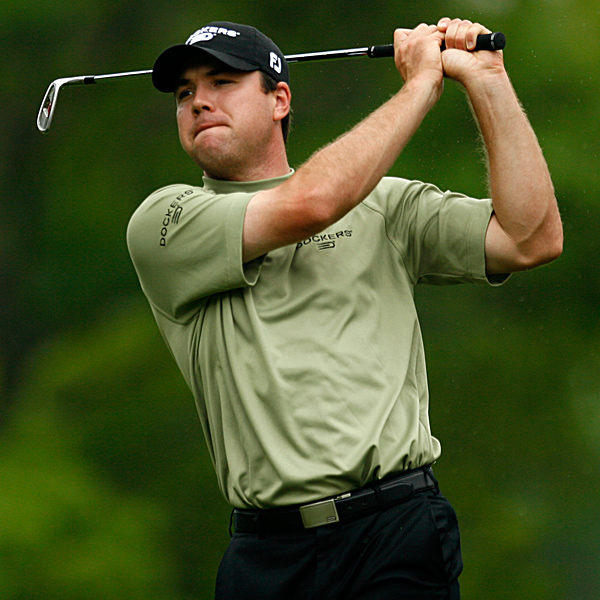 A 64-66 start at Colonial has Arron Oberholser in contention for his first PGA Tour win since the 2006 AT&T Pebble Beach National Pro-Am. He is one shot behind Tim Clark and in second place.