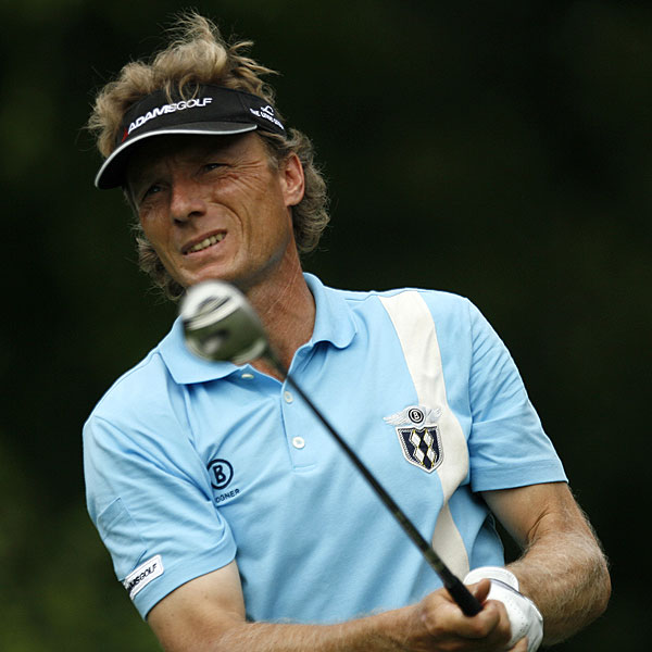 For Langer, life's a beach                                              A two-time Masters champion, 49-year-old Bernhard Langer found the greenside bunkers five times at Colonial and got up and down all five times. Although he lost in a three-way playoff to Sabbatini, last week's T2 is Langer's best result on PGA Tour since the 2001 FedEx St. Jude Classic.