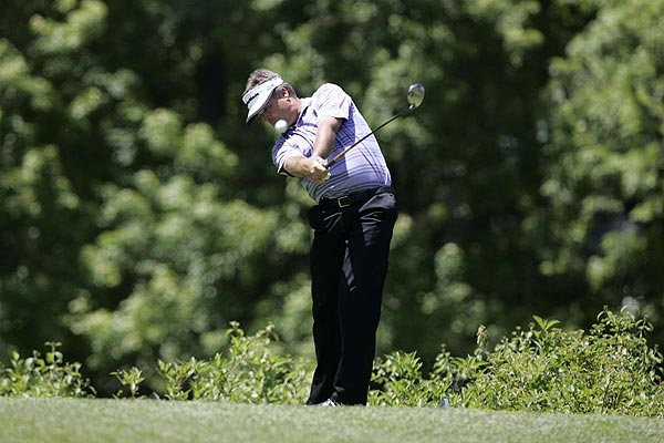 Kenny Perry is one stroke off the lead after a first-round 66.