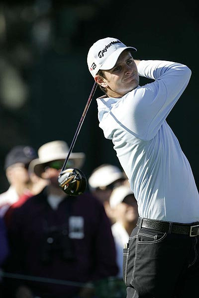 """It was probably one of the most enjoyable rounds of golf I've had this year, just weather-wise and the course was in great condition,"" said Justin Rose, who is three strokes off the lead at four under par. ""It was nice to go out there and feel like you could make a score."""