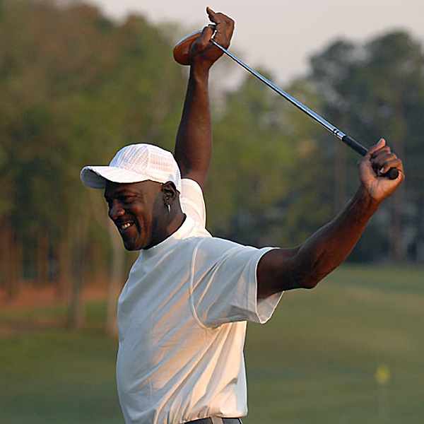 Since retiring from basketball, Jordan has been seen at several golf tournaments. He even gave a speech in front of the U.S. team at the 2004 Ryder Cup.