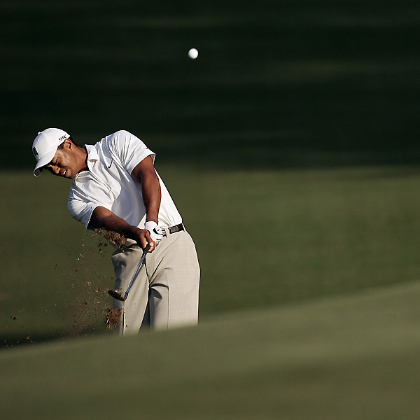 Woods is making his first start since he tied for second at the Masters.