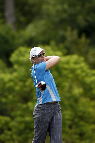 Second Round of the Ginn TributeAnnika Sorenstam moved into contention after a bogey-free 66.