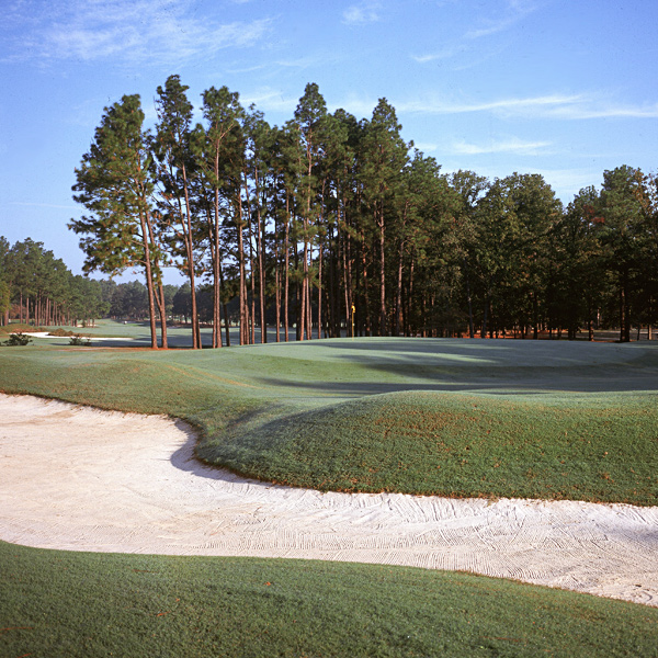"3. Pinehurst Resort (No. 2)                     Pinehurst, N.C                                          These days Donald Ross' masterpiece is too wide and too short for his classic strategies to challenge the pros, so the crowned greens are firmed and quickened to goofy golf levels to keep scores in check. From 50 yards in, it's the most intriguing test in golf, but plenty of folks agree with Ben Hogan's assessment: ""The trouble with Pinehurst is that when you try to think of one great hole, you can't. Nothing jumps into your mind.""                                          No. 5                                                                                    • Most Underrated 
