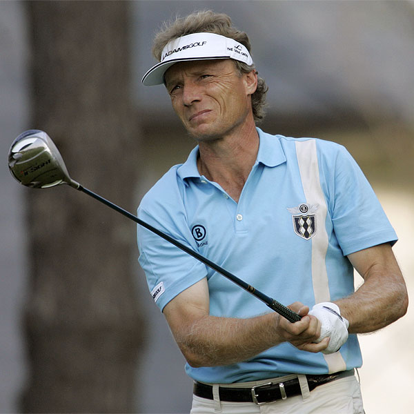Bernhard Langer, who has missed half of his cuts this year, had an eagle on the par-5 15th hole. He finished at 2 under par. • See the latest news and photos about Bernhard Langer