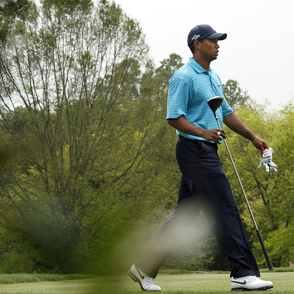 Tiger Woods bogeyed the final hole during the first round to finish four strokes off the lead. • See the latest news and photos about Tiger Woods