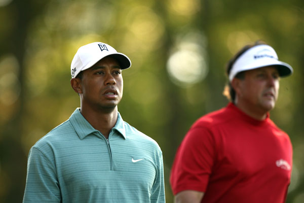 In the first season of the FedEx Cup playoffs, Mickelson and Woods battled again at the 2007 Deutsche Bank Championship at TPC Boston. Mickelson won by two strokes, but Woods would go on to win the Tour Championship and the FedEx Cup.