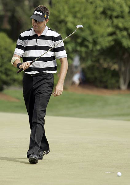 Robert Allenby's final round 66 was not enough to catch Kim. He finished at nine under par.