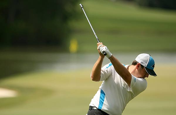 Ben Curtis had a fourth-round-record score Sunday when she shot 65.