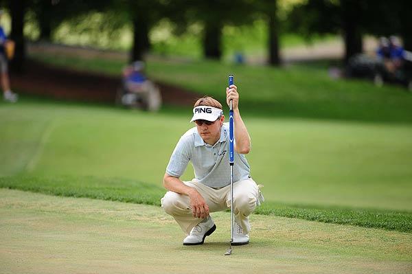 Heath Slocum's final-round 73 left him eight strokes off the lead.