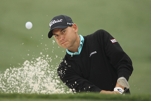 Bill Haas made three birdies and one bogey to stay in the hunt at Quail Hollow.