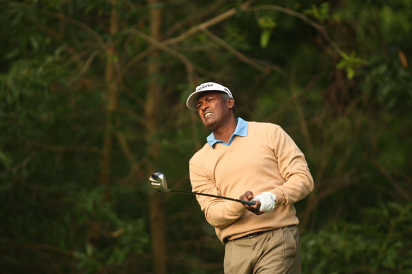 Vijay Singh fired his second 68 of the week.