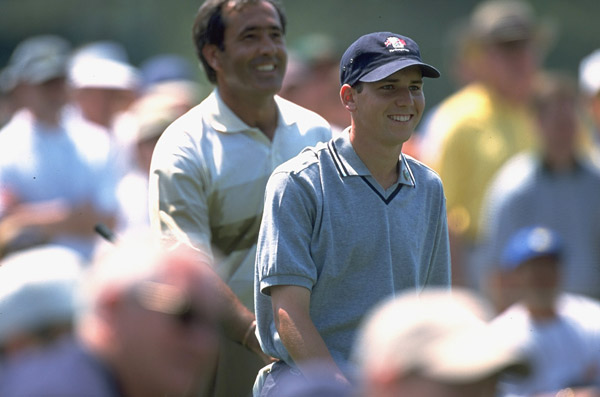 Ballesteros inspired the careers of countless players from Spain and elsewhere in Europe. At the 1999 Masters, Seve played with a young Sergio Garcia in a practice round. Garcia would go on to win low amateur honors that year and turn pro shortly thereafter.