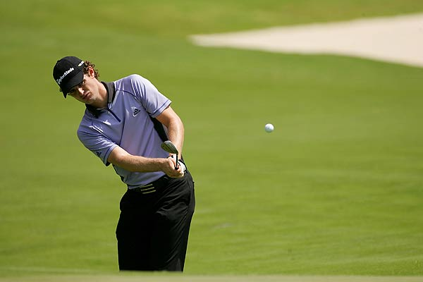Justin Rose, who was on the course Wednesday, missed the cut at last week's Wachovia Championship.