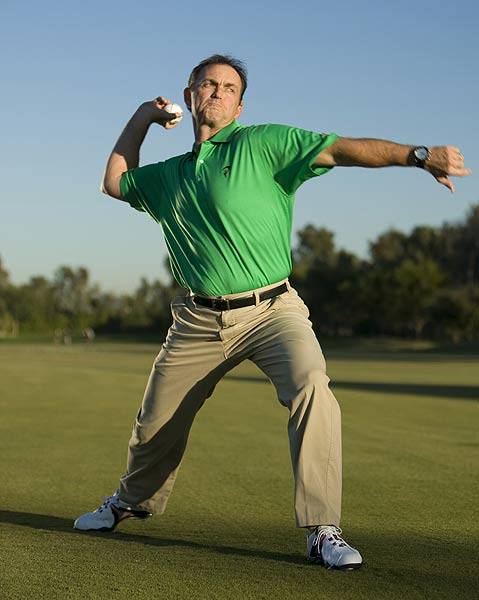 How to Throw Out Your Slice                     By David Phillips                     Top 100 Teacher                                          This story is for you if...                                          • You usually slice or pull your tee shots                                          • You don't know when your backswing ends and your downswing begins                                          • You lack power                                          The Fault                                          You figure that if you turn your upper body and your lower body in unison during your downswing, you'll be in a solid position at impact. What you get instead are weak slices and pulls.                                          The Fix                                          Think of your downswing as a chain of events, not a unified motion. Move your lower body first and then your upper body, with your arms and clubhead bringing up the rear. This may sound a little complicated, but you've done it every time you've thrown a baseball, leading with your front leg and finishing up with your arm. Try the following drill to learn how to do it consistently in your swing.
