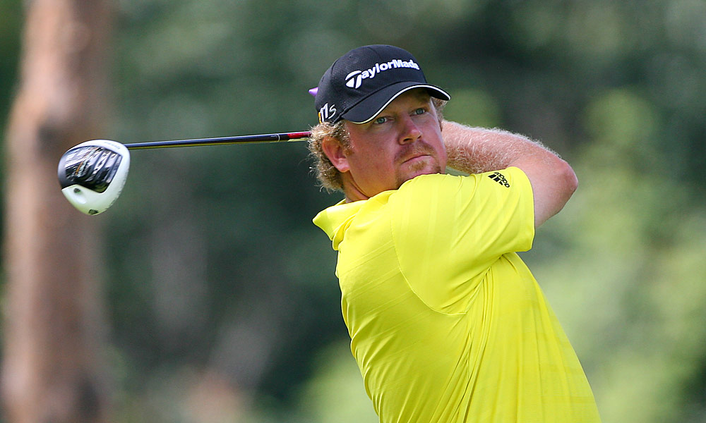 William McGirt shot a four-under 66 and trails Garrigus by one.