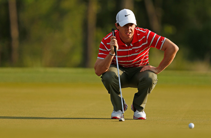 """""""Everything feels good in my game,"""" McIlroy said. """"It's just about playing a bit more competitive golf and just getting a little sharper."""""""