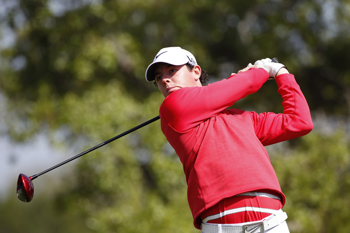 McIlroy made four birdies and three bogeys.