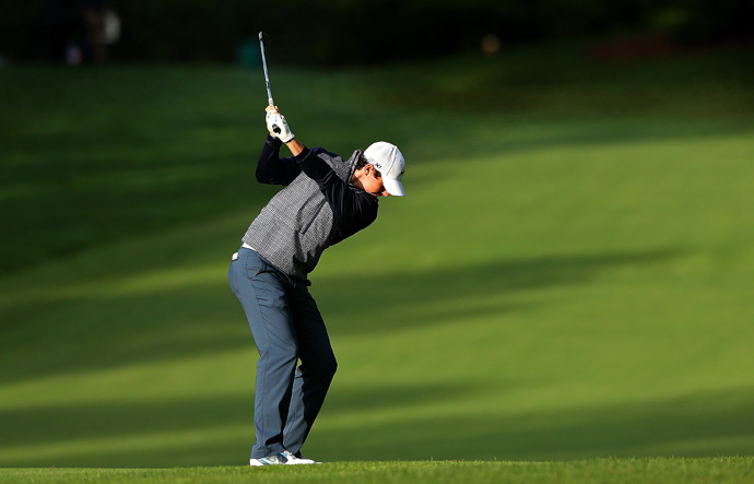 Rory McIlroy is three behind Mickelson after a 71.