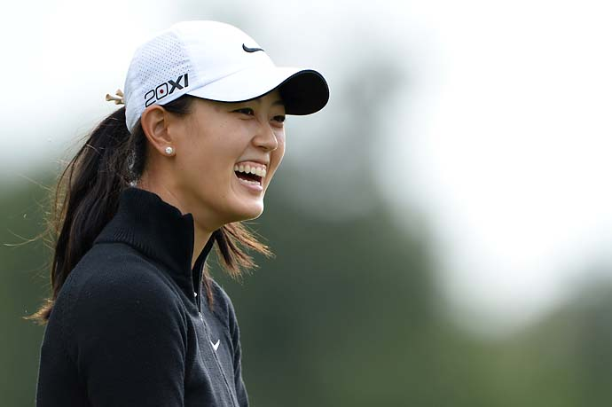 Michelle Wie at the 2013 Evian Championship in Evian, France.