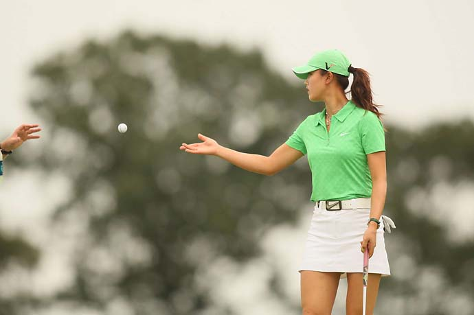 Michelle Wie at the 2009 Navistar Classic in Prattville, Ala.