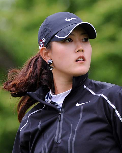 Michelle Wie at the Sybase Classic at Upper Montclair Country Club in New Jersey.