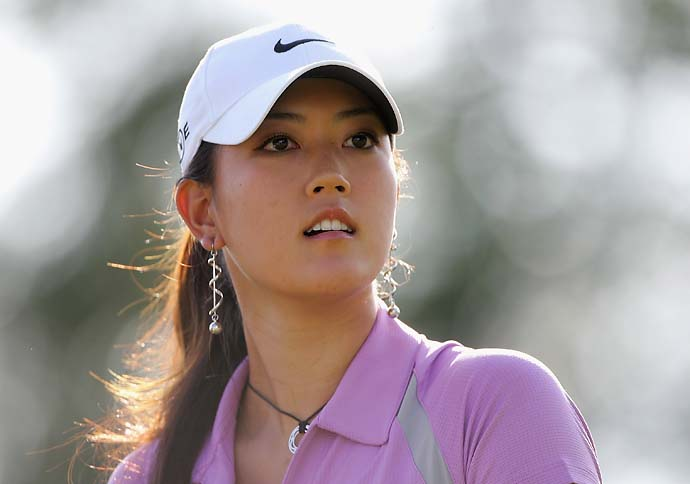 Michelle Wie at 2006 Omega European Masters.