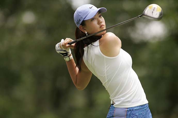 Michelle Wie at the 2006 HSBC Women's World Match Play at Hamilton Farm GC in Gladstone, N.J.
