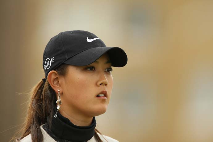 Michelle Wie on No. 3 during Friday play at the 2007 Women's British Open at the Old Course in St. Andrews, Scotland.