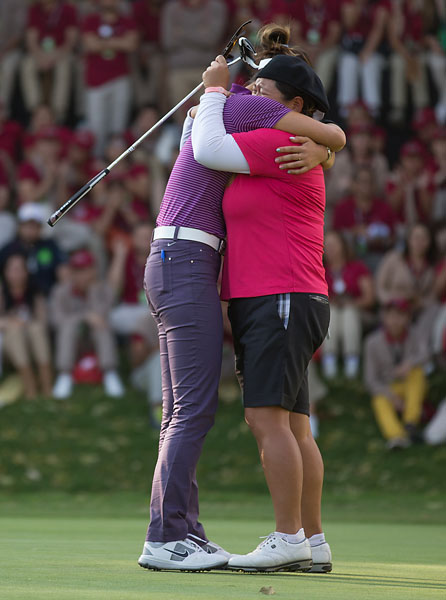 """She signed every single autograph.  And that's exactly the reason why she's the best person to represent our Tour.  She is everything that the LPGA is.""                       --Michelle Wie on her friend Christina Kim's win at the Lorena Ochoa Invitational."