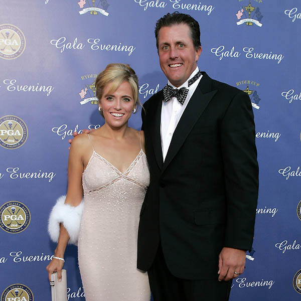 Amy Mickelson, with husband Phil Mickelson.
