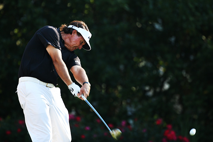 Phil Mickelson missed the cut after rounds of 72 and 73.