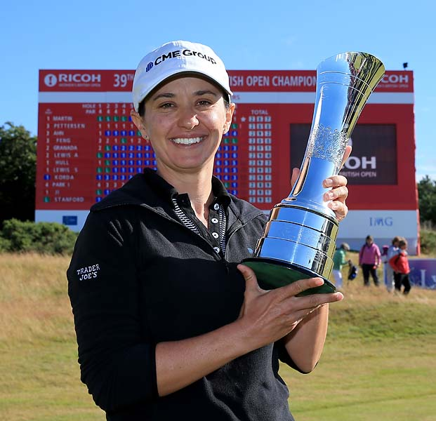 """So is this real life? This is the definition of unbelievable.""                       --Mo Martin after winning the Women's British Open over Inbee Park and Suzann Pettersen."