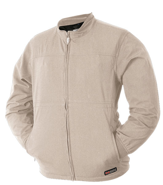 Mobile Warming Softshell Heated Jacket                     $200, mobilewarminggear.com                     Micro-alloy heating elements in the chest and back, powered by a rechargeable lithium ion battery in the front pocket, ensure that your dreams of winter golf won't be left out in the cold.
