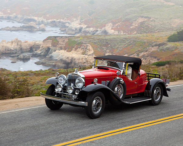 Decades before the golf courses were built on the Monterey Peninsula, the area was known for its scenic drives.