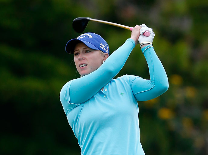 """I flew over 43,000 air miles.""                       --Morgan Pressel on how much she traveled in the last six weeks of the LPGA's far-flung schedule."