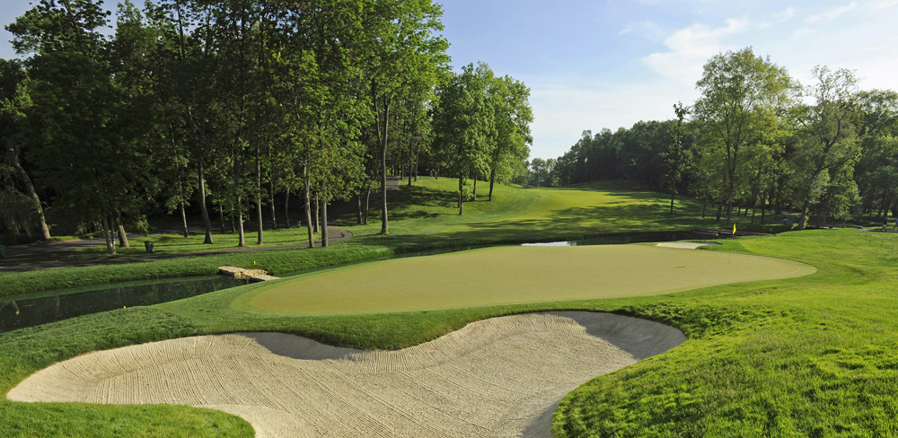Muirfield Village -- Dublin, Ohio Sure, this course already enjoys tons of exposure from Jack's annual PGA Tour shindig. But it would be nice to see the PGA show some additional love by tossing a bone to the five-time winner of its premier championship, whose hometown course is easily deserving of a major.Ranked No. 30 on Golf Magazine's Top 100 Courses in the U.S.