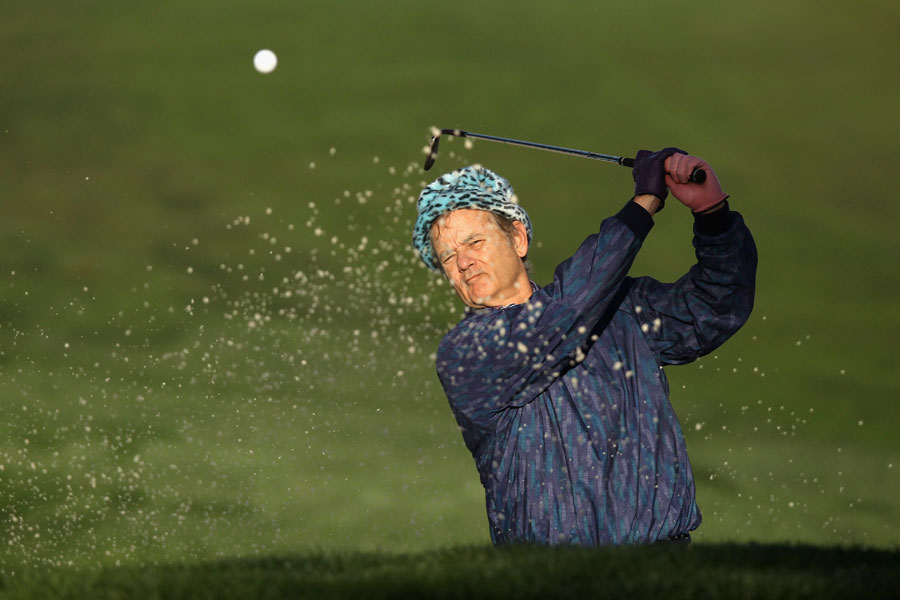 Bill Murray was his usual crazy self on Friday.