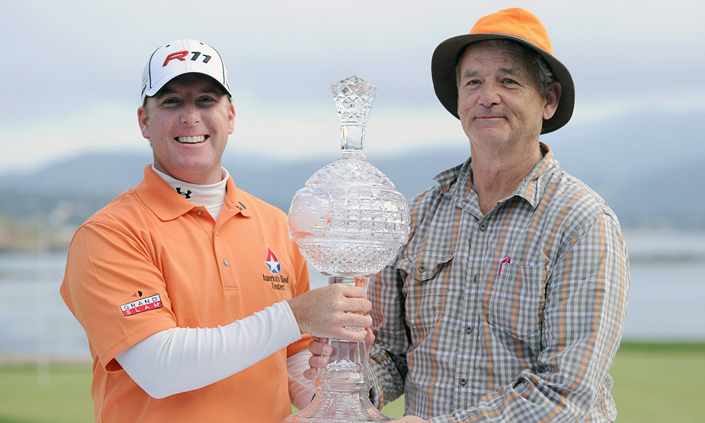 The unique pairing gelled competitively, too. Not only did Points win the tournament for his first PGA Tour victory, but Murray and Points also won the pro-am event.