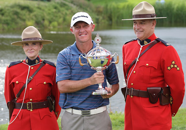 RBC Canadian Open                       Winner: Nathan Green                       Thirty-four-year-old Nathan Green beat Retief Goosen in a playoff to capture his first victory on the PGA Tour.                                              Read the entire article