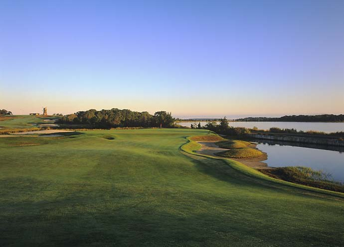 No. 5: National Golf Links of America, Southampton, N.Y.                       (No. 11 on Golf Magazine's Top 100 Courses in the World)