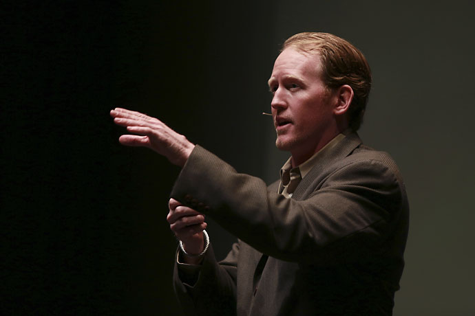 """The last psychiatrist I spoke to recommended golfing to relieve stress — and that's a bad idea. Golf's more stressful than combat.""-- Former Navy Seal Rob O'Neill, leader of the mission to kill Osama Bin Laden."