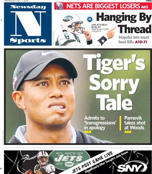 Newsday — December 3, 2009