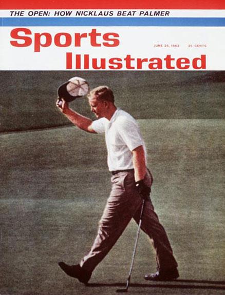 Jack Nicklaus wins the 1962 U.S. Open at OakmontJune 25, 1962