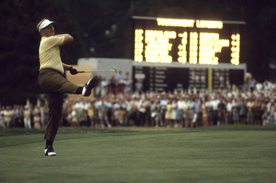 It was 1967 before he won his second Open. He shot 275 at Baltusrol, a scoring record for the tournament.