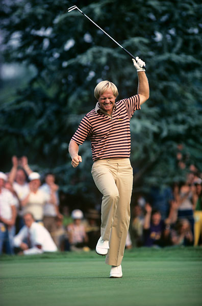 Nicklaus shot a record score of eight-under 272 in 1980 and joined Willie Anderson, Bob Jones, and Ben Hogan as the only men to win the Open four times.