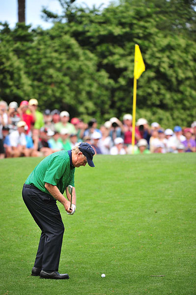 Nicklaus, Palmer and Player have won a combined 13 Masters titles.