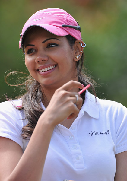 Sharmila Nicollet                     Nicollet made it through 2011 Q-school to earn her card for 2012.