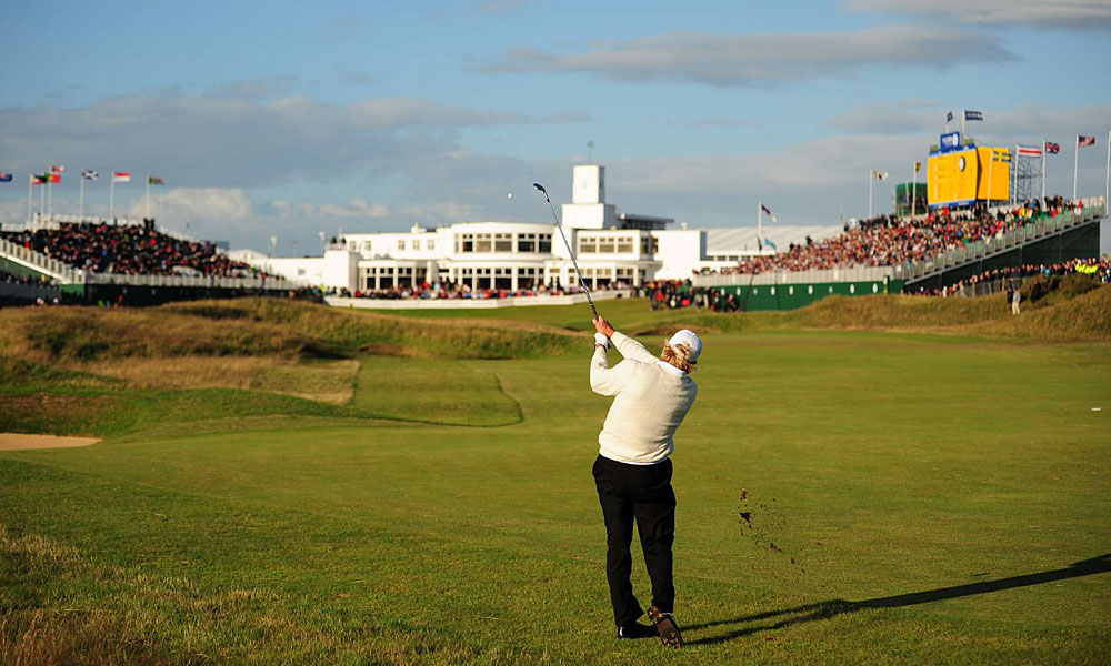 Norman shocked the world at age 53 when he took a two-shot lead into the final round at the 2008 British Open at Royal Birkdale. He shot a 77 in the final round, however, and Padraig Harrington won by four shots.