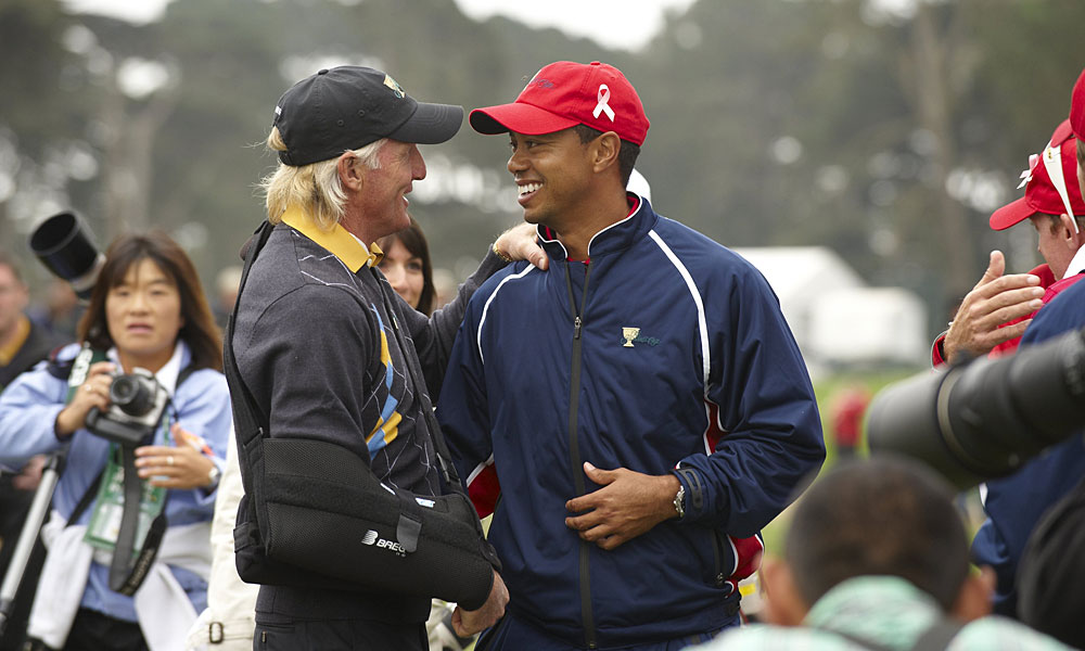 Norman and Woods met again at the 2009 Presidents Cup at Harding Park in San Francisco, but this time Norman served as captain for the International team. The U.S. won 19 1/2 - 14 1/2.